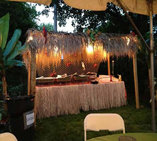 Hawaiian And Tropical Themed Party Rentals